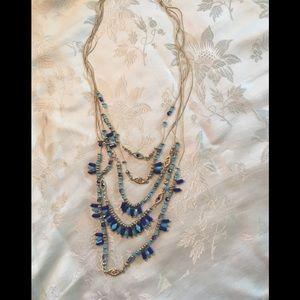 Elegant beaded necklace